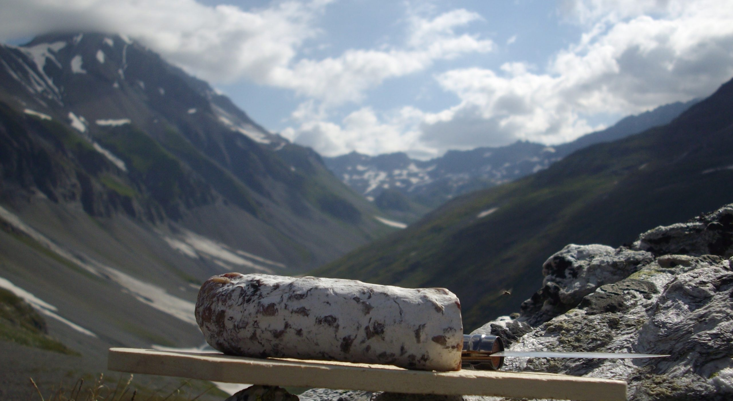 saucisson sur la Vanoise